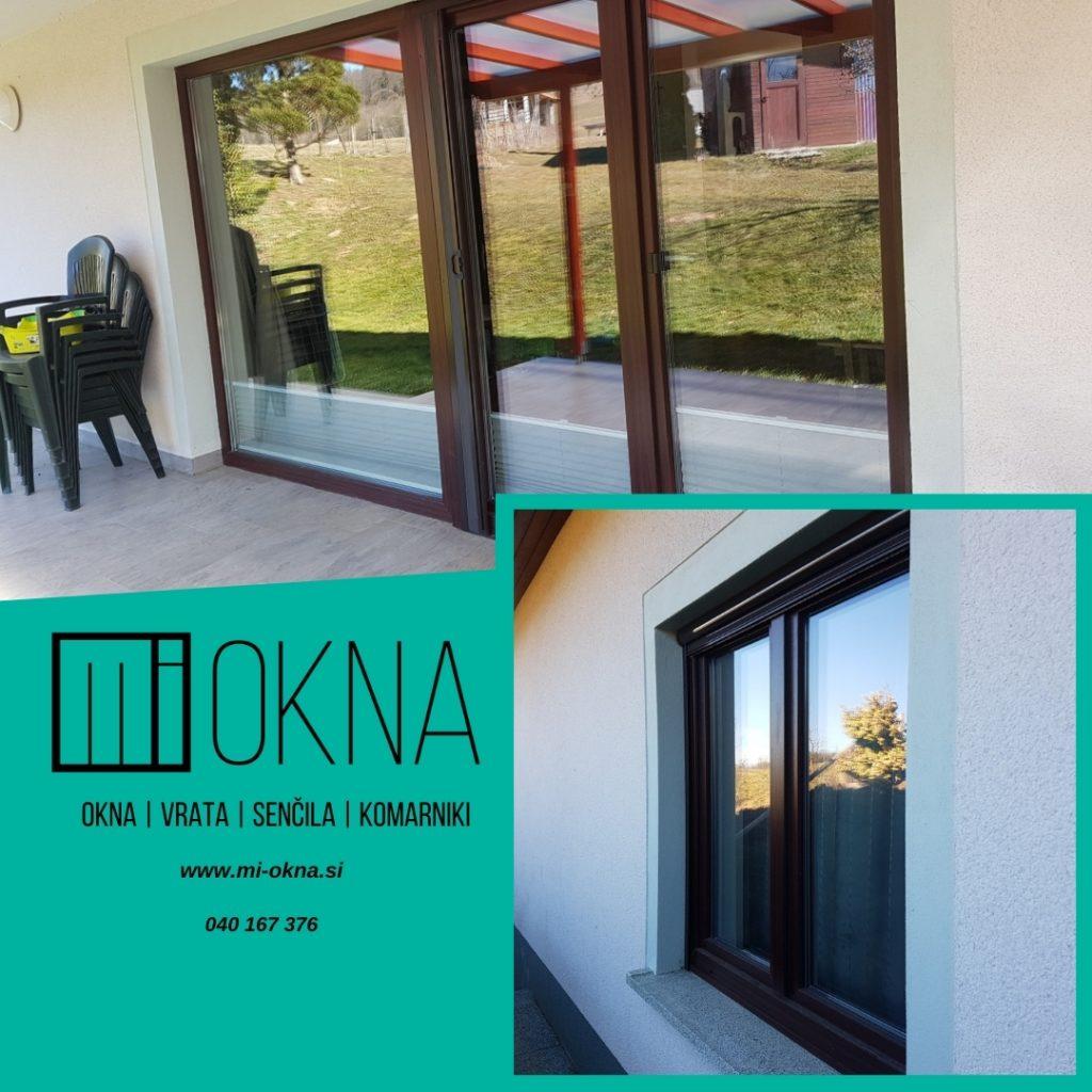 5 najpomembnejših prednosti novih PVC oken in vrat