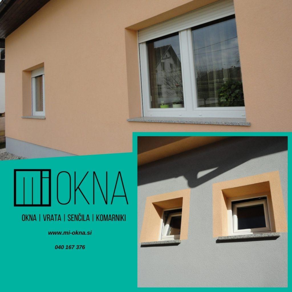 Nova PVC okna za prijetnejše in mirnejše bivanje MI-OKNA