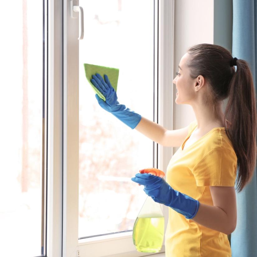 Enostavno vzdrževanje in čiščenje novih oken
