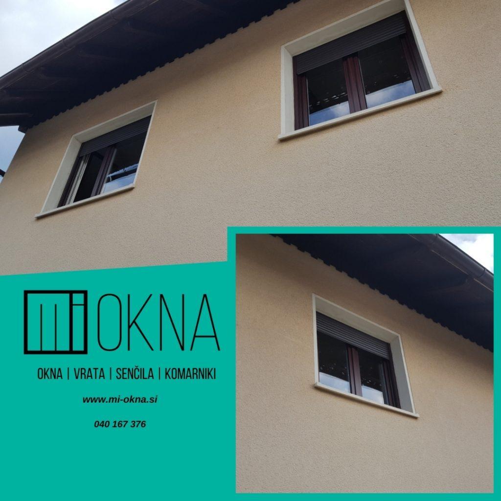 Nova PVC okna enostavna za vzdrževanje in čiščenje MI-OKNA