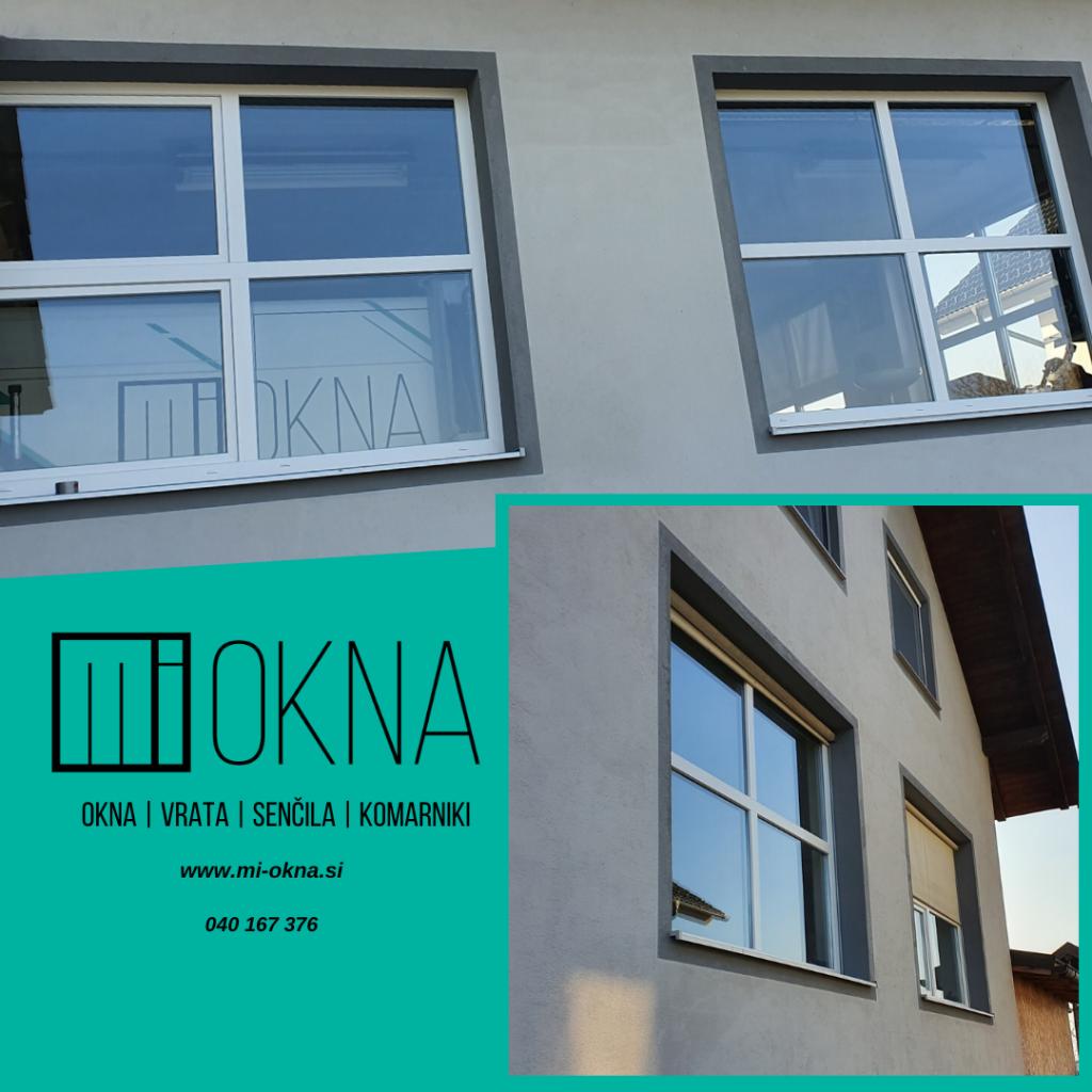 dobava in vgradnja novih oken za poslovni objekt